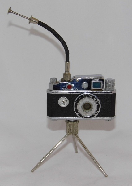 Vintage Camera-Style Cigarette Lighter, Made in Occupied Japan (16835139257)