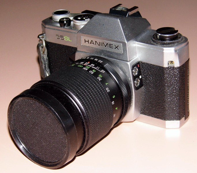 Vintage Hanimex 35mm SLR Film Camera, Model 35-SL, Made In Japan (13541527895)