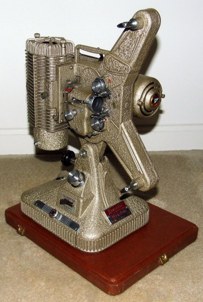 Vintage Keystone Regal 8mm Movie Projector, Model K109, Made In USA, Circa 1953 (18574333241)