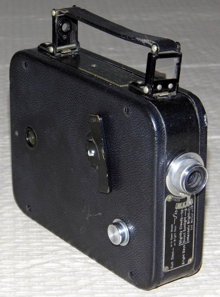 Vintage Kodak Cine-Kodak Eight, Model 20, 8mm Movie Camera (12161160413)