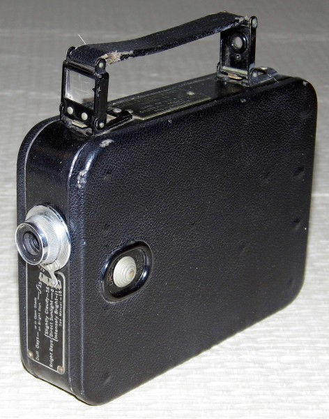 Vintage Kodak Cine-Kodak Eight, Model 20, 8mm Movie Camera (12161194383)