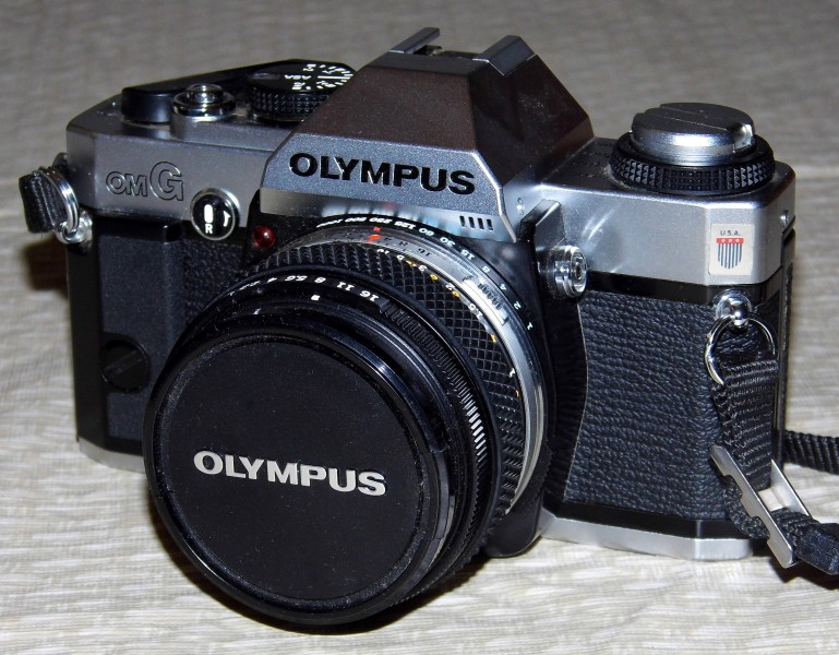 Vintage Olympus OM-G 35mm SLR Camera, A Simplified OM-30, Also Known As The OM-20, Circa 1982 (13380724205)
