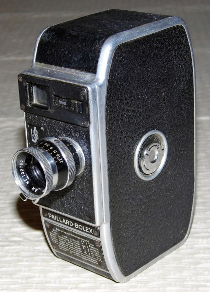 Vintage Paillard-Bolex 8mm Movie Camera (12103514676)