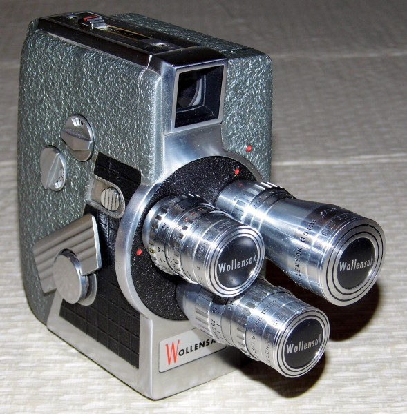 Vintage Wollensak 8mm Movie Camera, Model 53 (12103066903)
