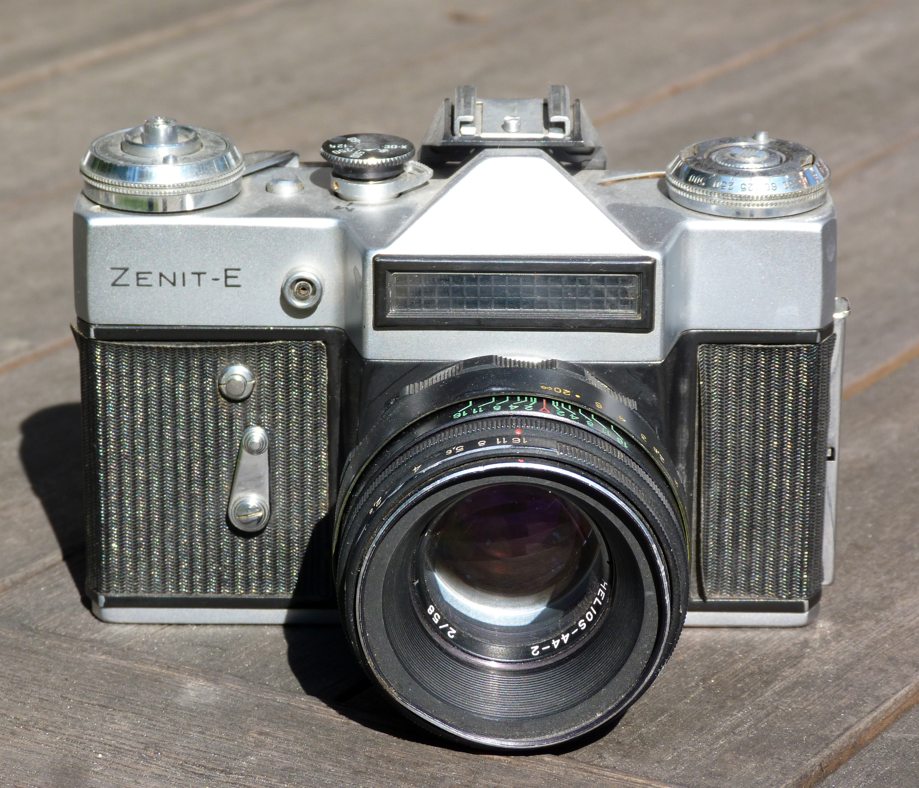 Zenit - E camera with Helios 44-2 lens