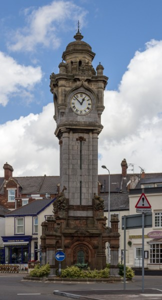 Exeter (Devon, UK), Clock Tower -- 2013 -- 1395