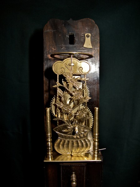 Japanese clock 1 - Detail