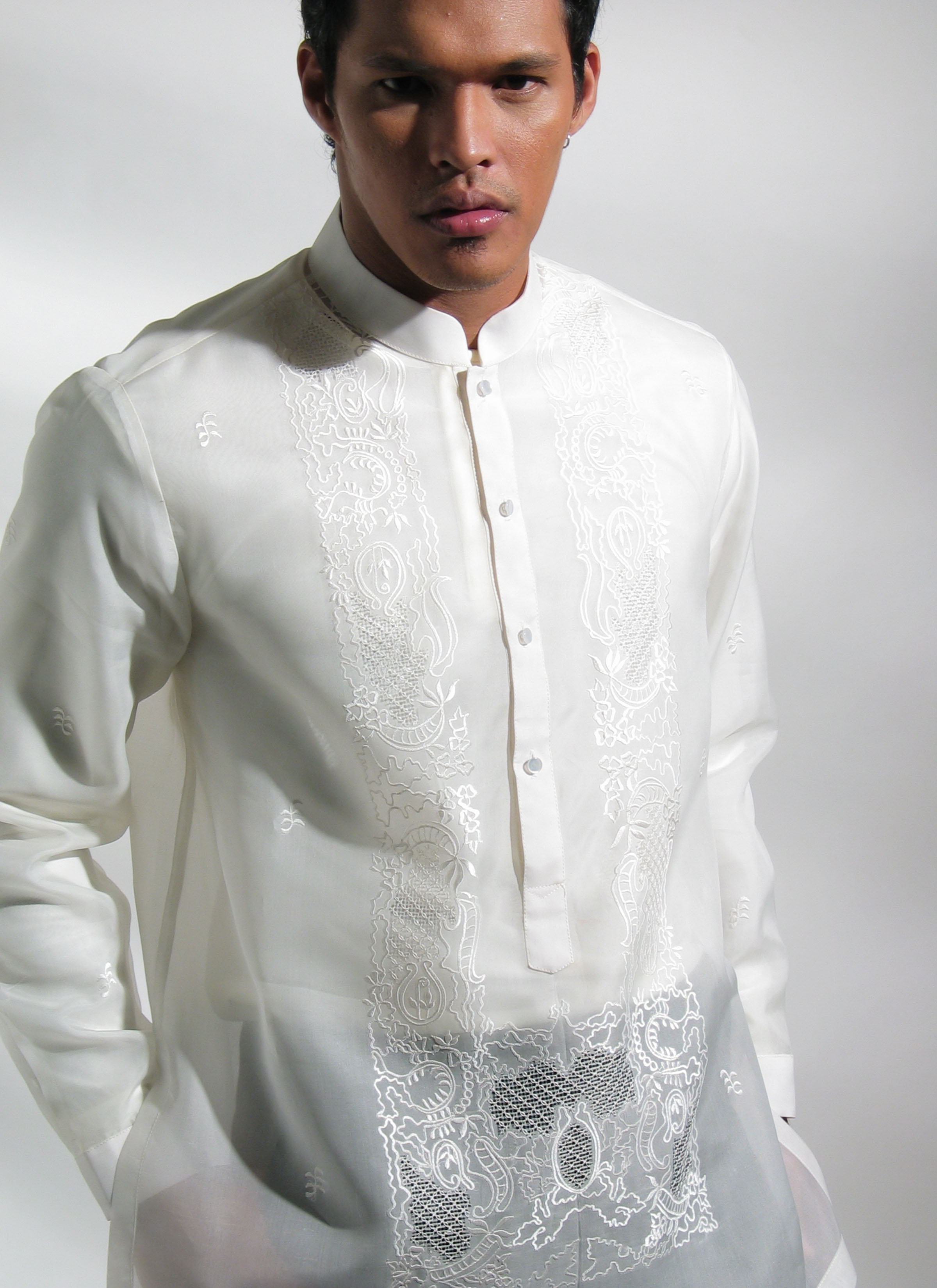 MyBarong created this Custom tailored Barong Tagalog for my wedding