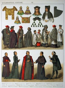 Ecclesiastical Costume. - 082 - Costumes of All Nations (1882)