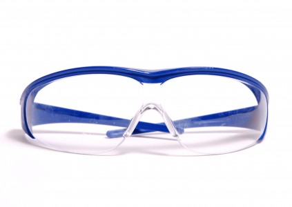 Laboratory protection goggles-blue