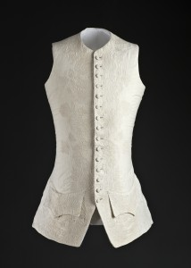Man's waistcoat with corded quilting c. 1760