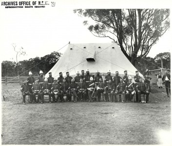 Soldiers at a Military Camp (4533436669)