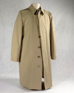 Trenchcoat worn by President Gerald R. Ford