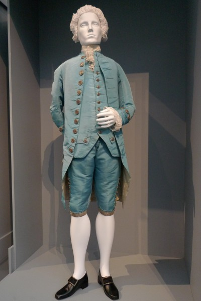 French mens suit 1765 LACMA