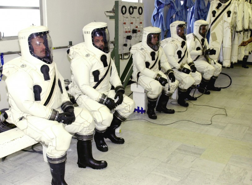 NASA SCAPE protective suits