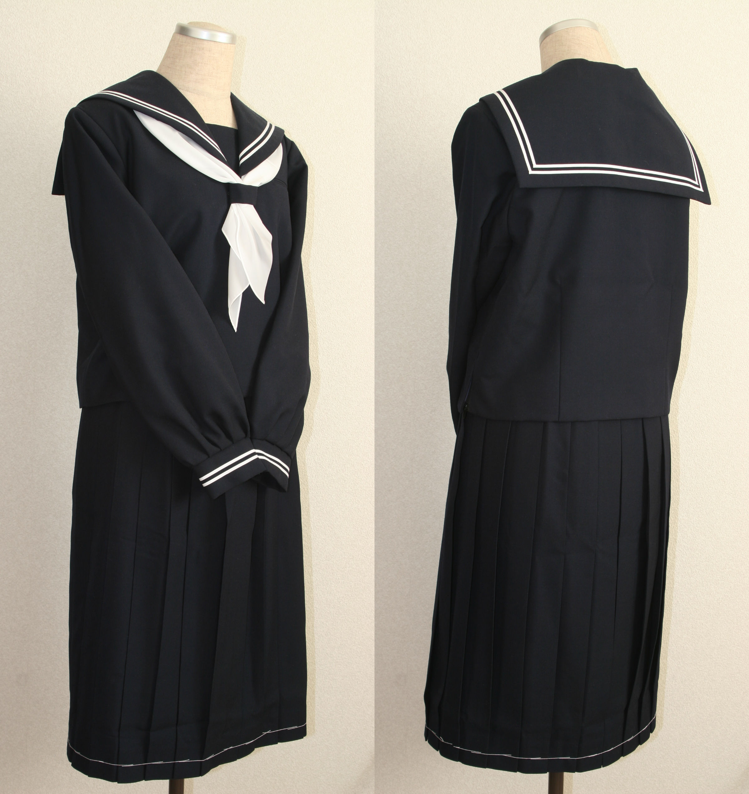 Sailor-fuku for winter