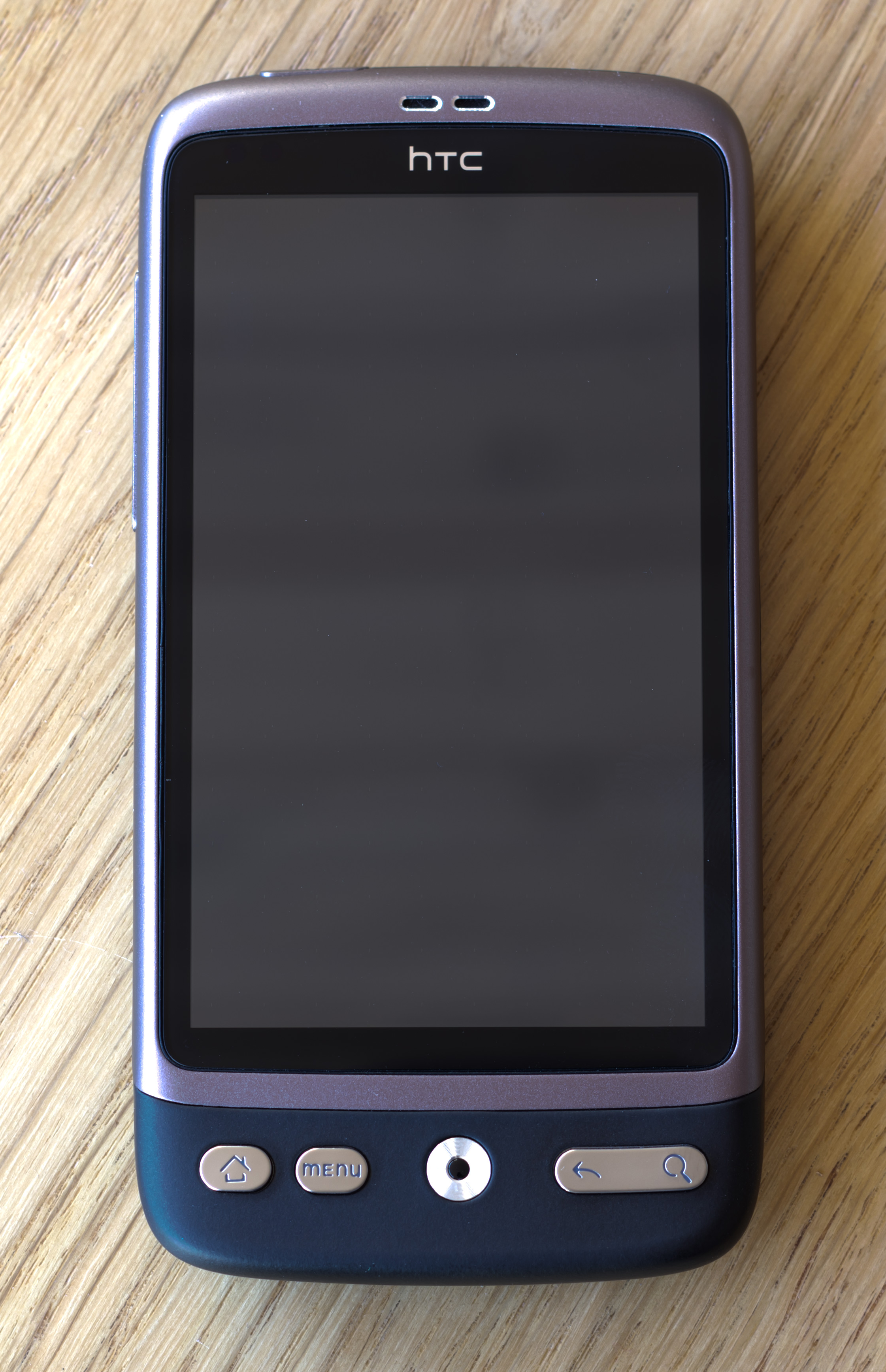 HTC Desire - front