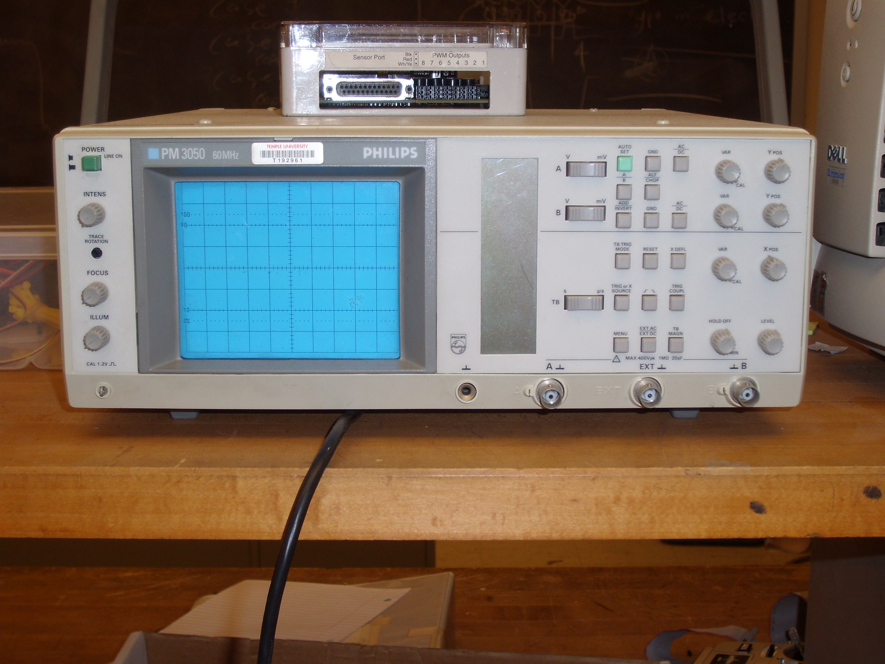 Philips PM3050 Oscilloscope