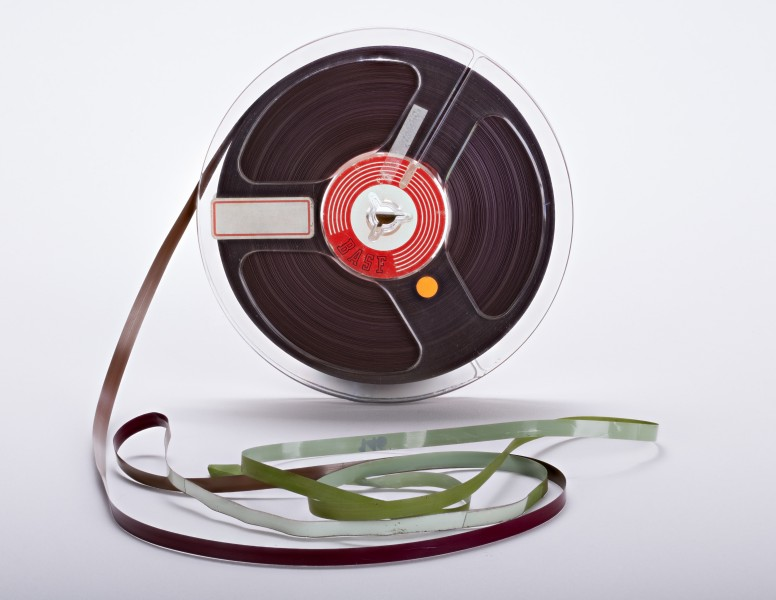 BASF magnetic audio tape 01