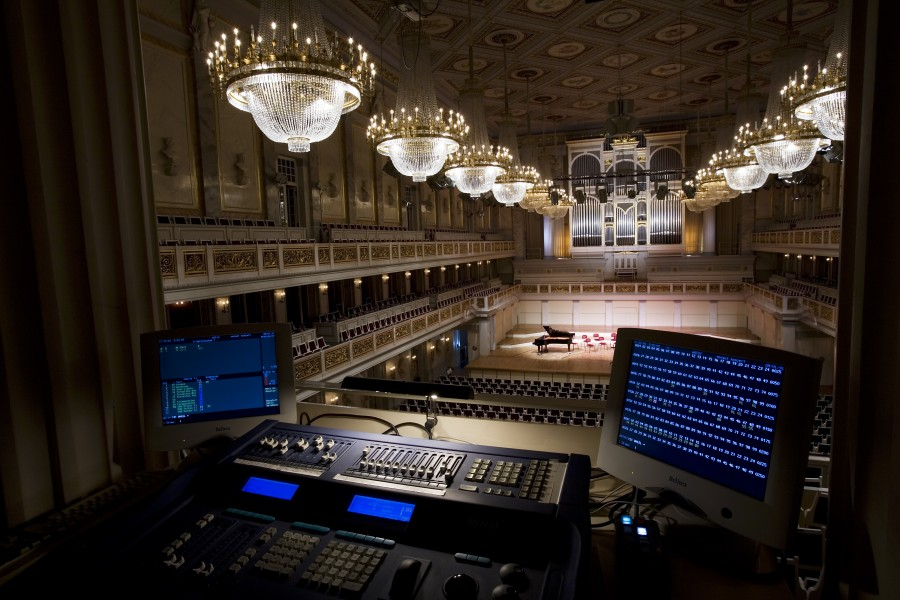 Berlin- Light control room at the main hall in the Konzerthaus - 4195