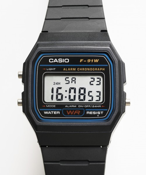 Casio F-91W digital watch