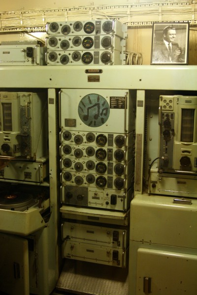 HMS Belfast - Radio room
