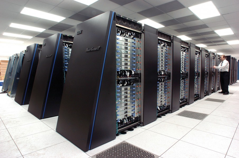 IBM Blue Gene P supercomputer
