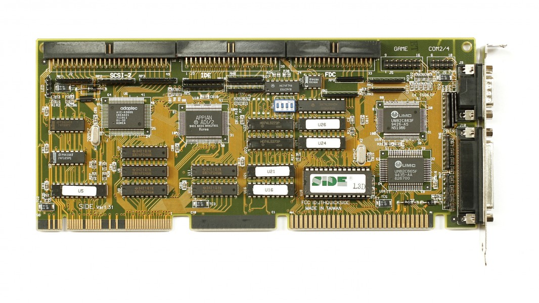 KL Quick Technology SCSI-2 IDE FDC