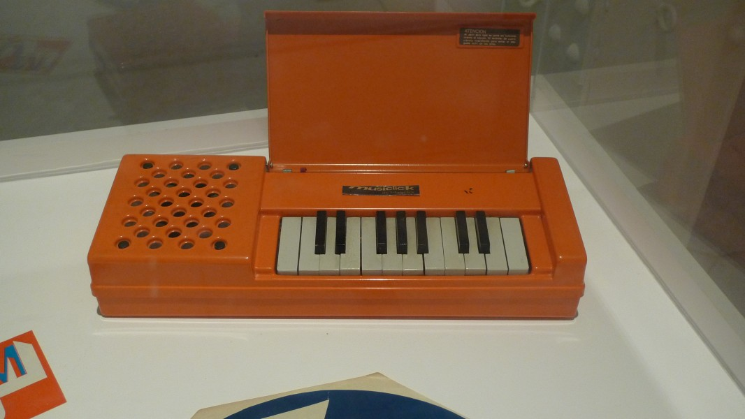 Musiclick, 1960 by Magiclick, mini electric organ from Argentinia