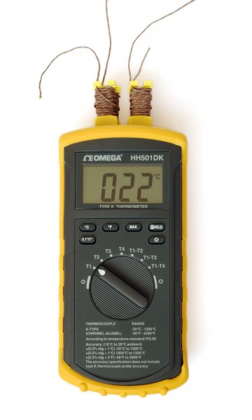 Thermoelement-Thermometer Omega (2)