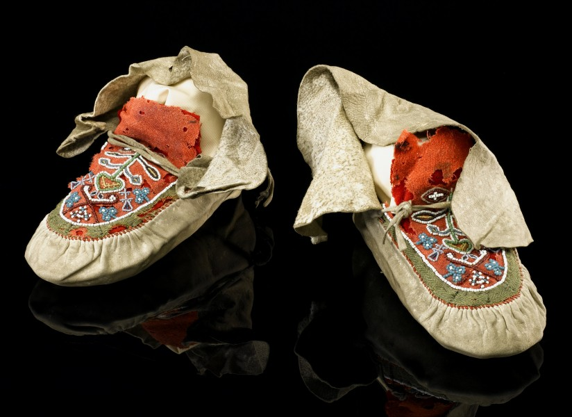 Florence Nightingale's moccasins, 1850-1856 Wellcome L0057412