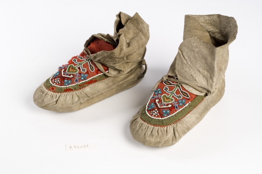 Florence Nightingale's Moccasins Wellcome L0043770