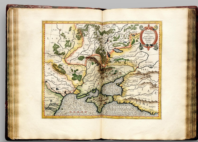 Atlas Cosmographicae (Mercator) 106