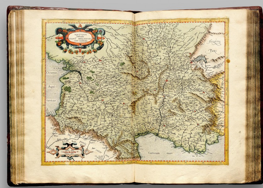 Atlas Cosmographicae (Mercator) 118