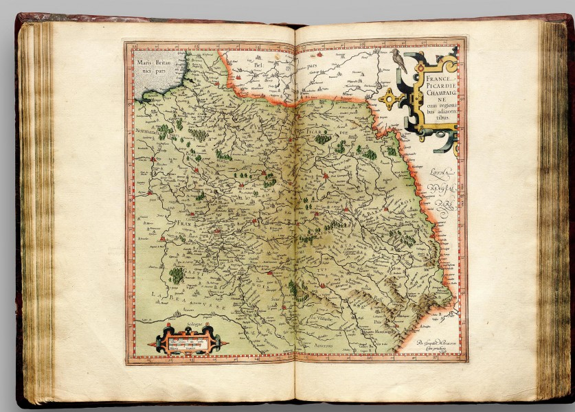 Atlas Cosmographicae (Mercator) 120