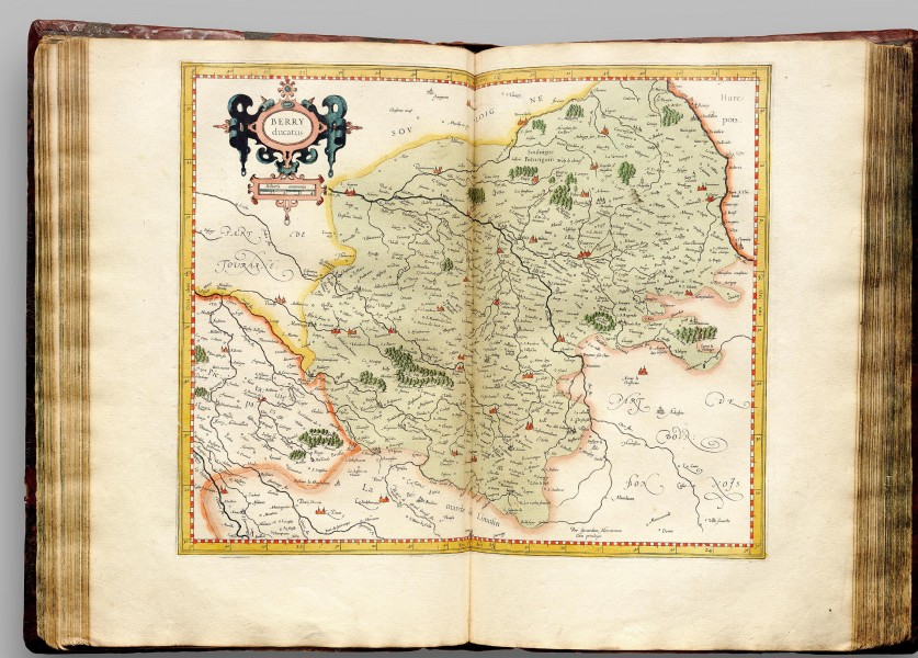 Atlas Cosmographicae (Mercator) 125