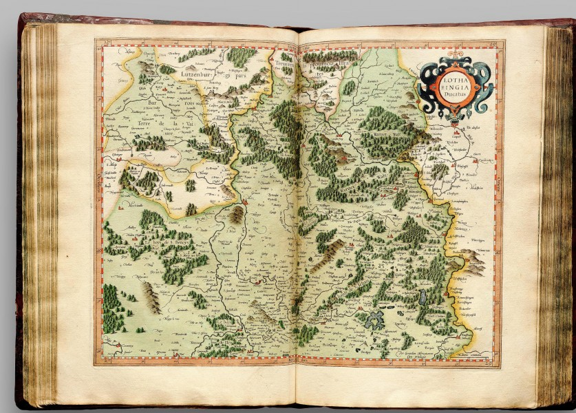 Atlas Cosmographicae (Mercator) 129