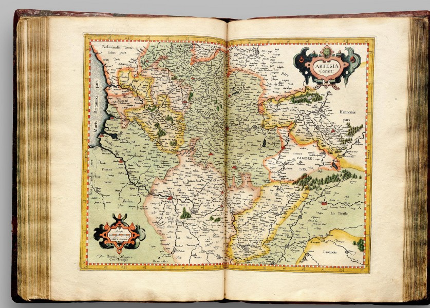 Atlas Cosmographicae (Mercator) 163