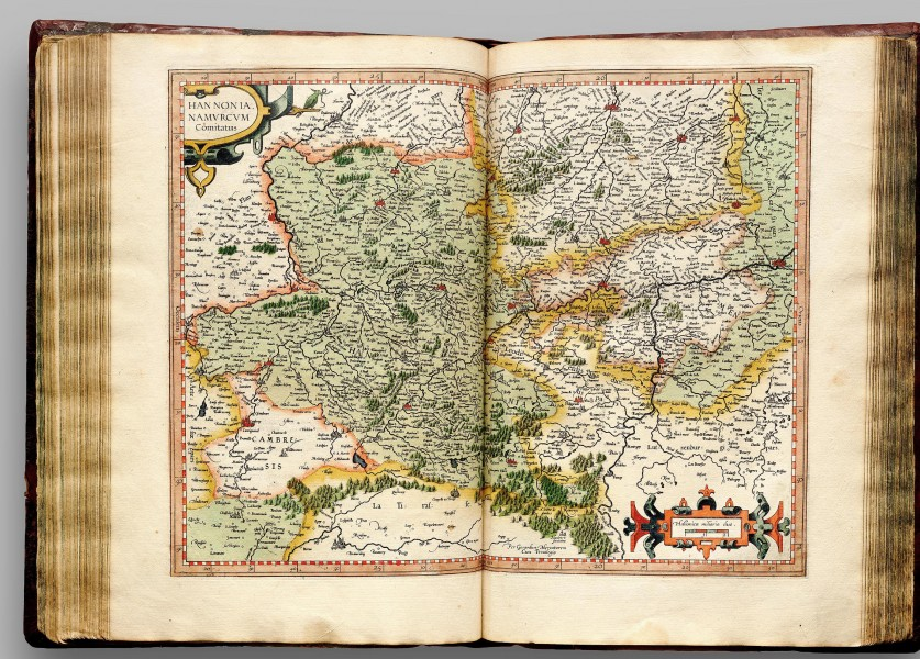 Atlas Cosmographicae (Mercator) 165