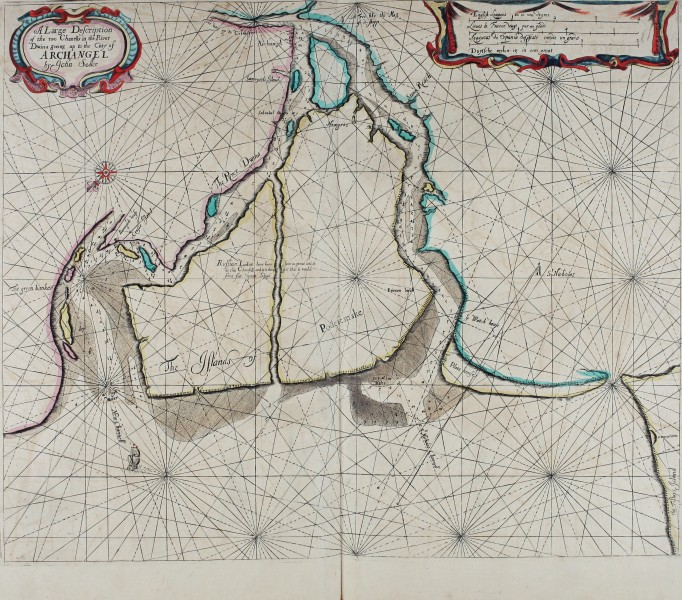 Atlas maritimus, or A book of charts - Describeing the sea coasts capes headlands sands shoals rocks and dangers the bayes roads harbors rivers and ports, in most of the knowne parts of the world. (14566791309)
