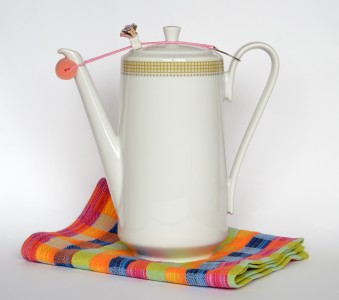 Jug with drip-catcher (aka)