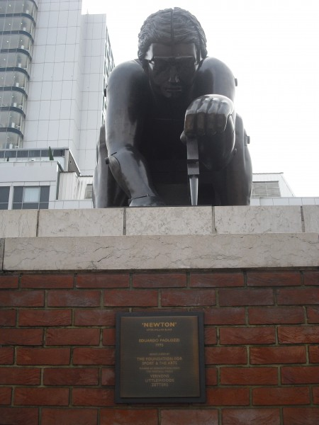 STATUE IN THE BRITISH LIBRARY2 3 3 2010