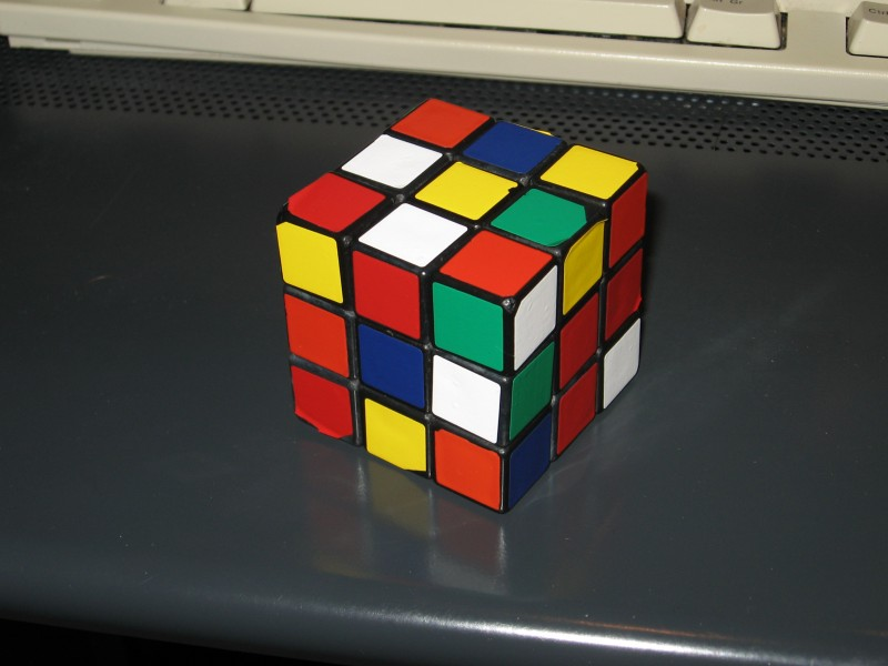 Rubik scrambled fridrish 10