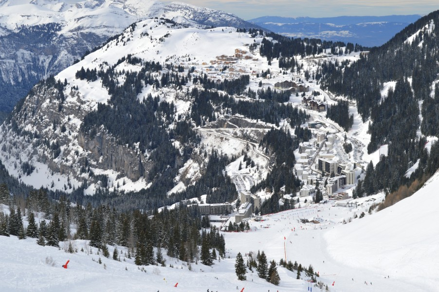 Flaine overview