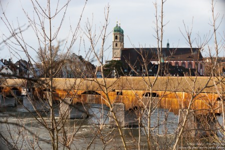 a bridge over Rhine connecting Switzerland and Germany, photographed in December 2017 by Serhiy Lvivsky, picture 2