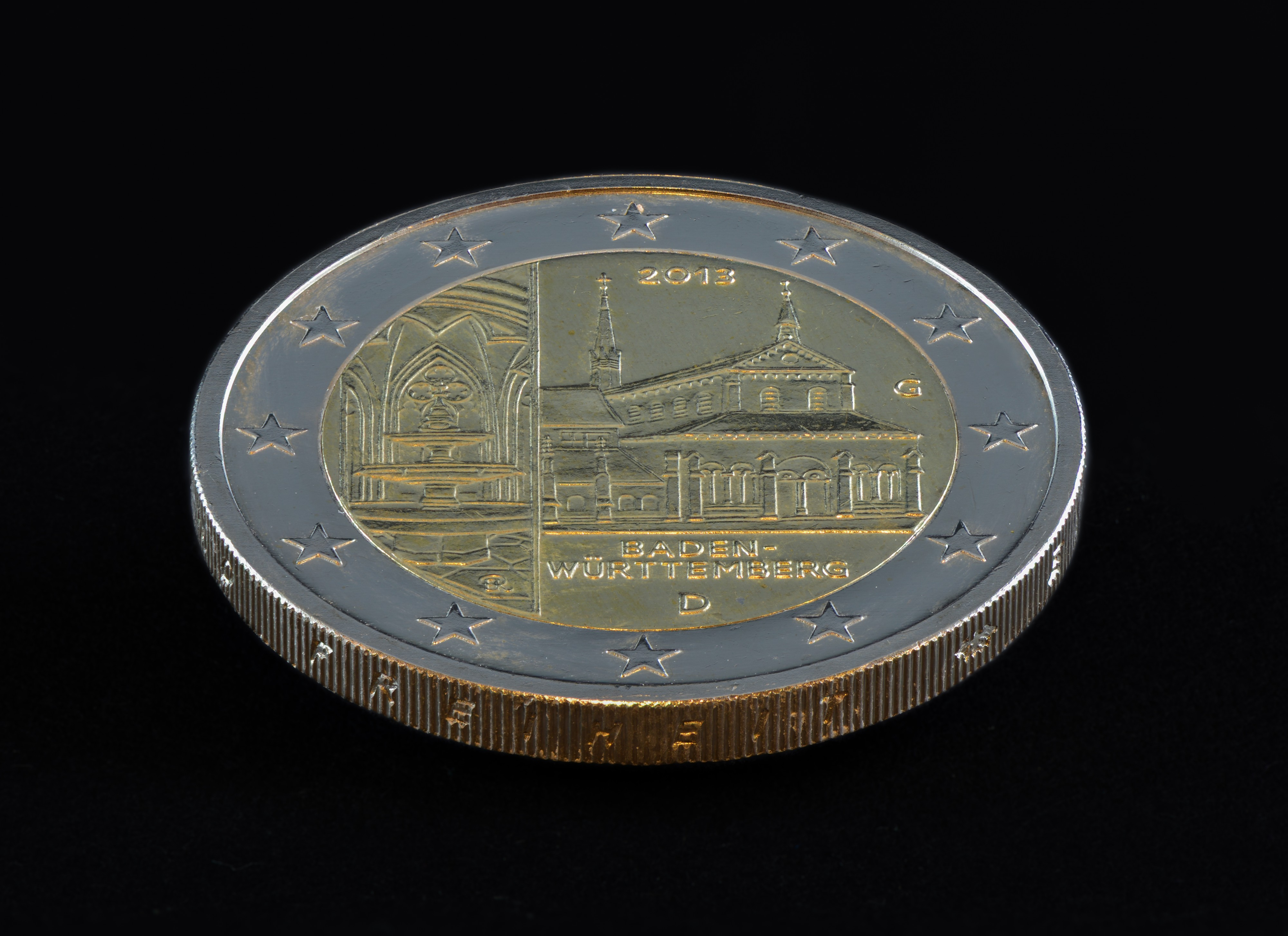 2 Euro commemorative coin - Baden-Würtemberg - 2013 - Germany - 01