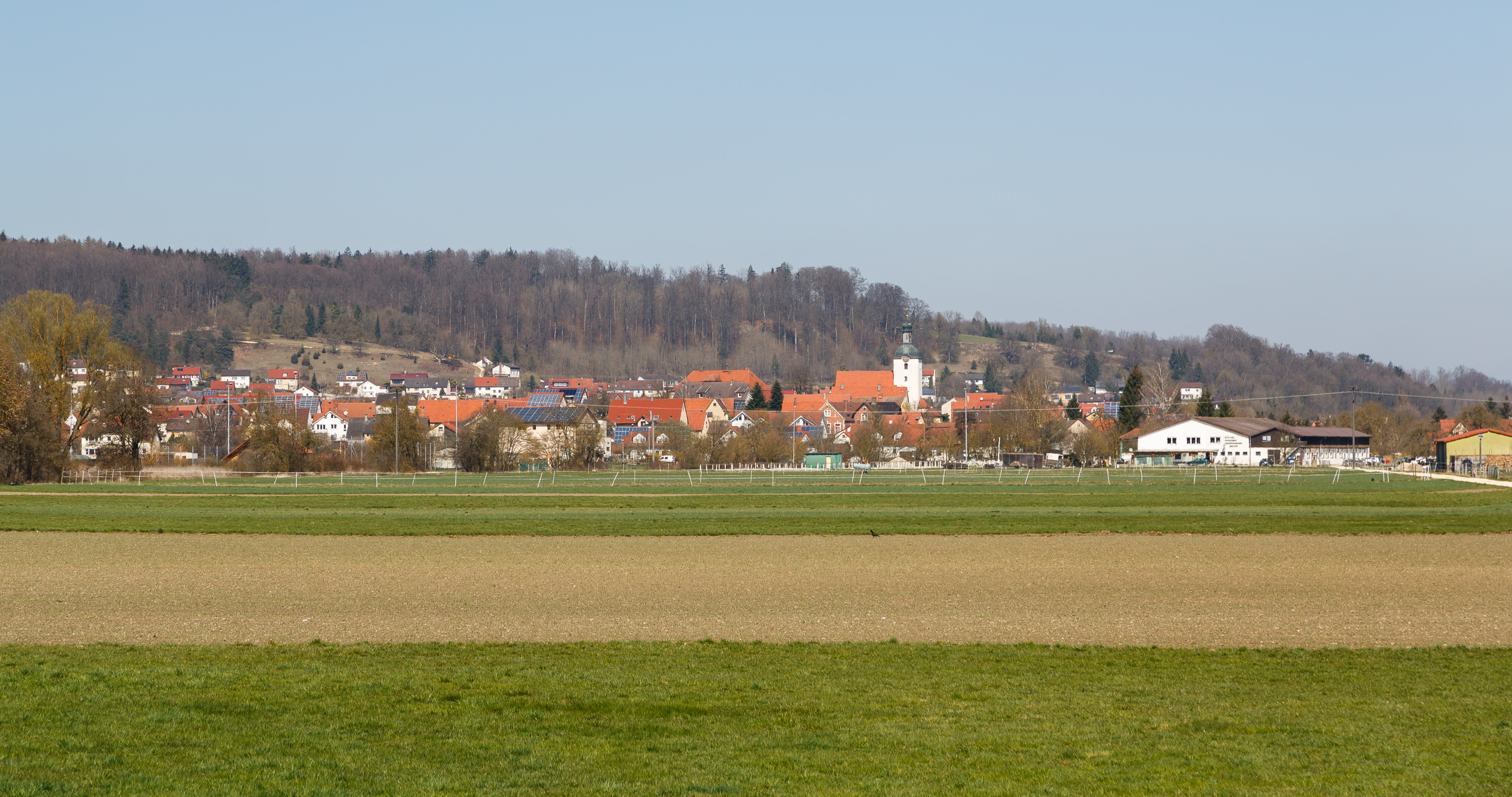Bolheim Baden-Württemberg Germany-Village-view-from south-02