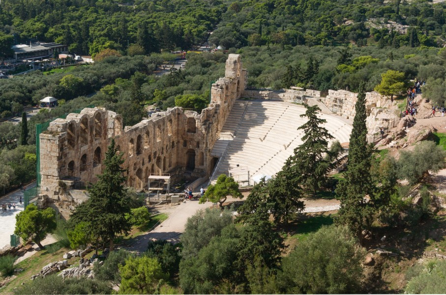 Theatre of Herode Atticus Acropolis Athens Greece