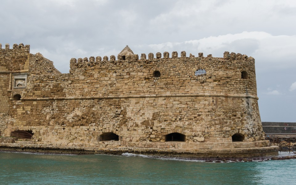 Venetian fortress Heraklion port