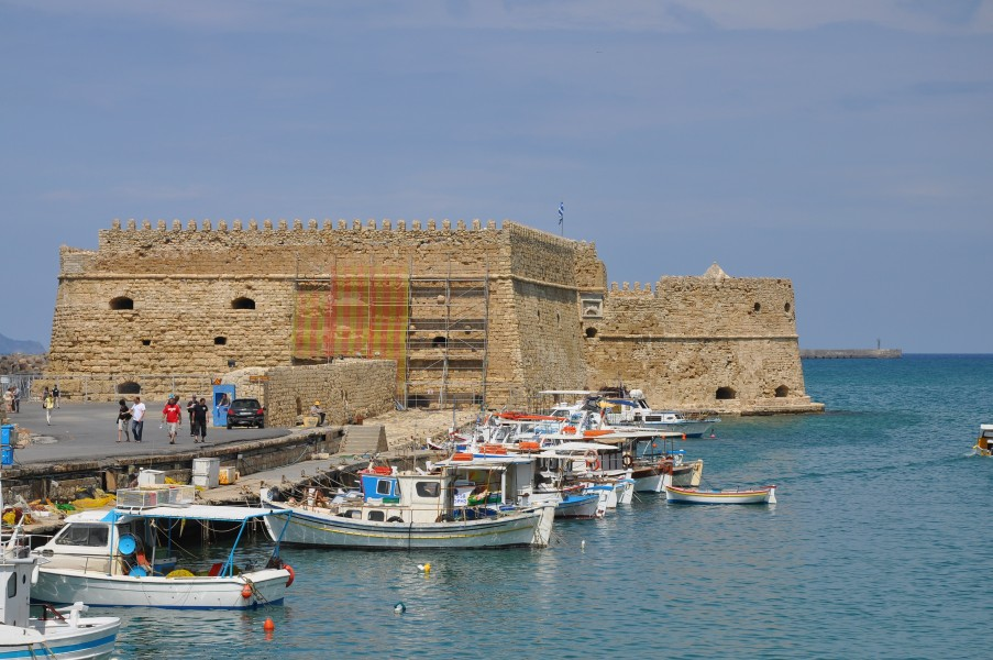 Venetian Fortress of Koules in Heraklion, Crete 004